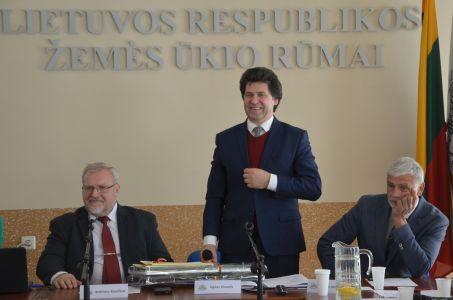 Stančikas, Dimaitis, Markauskas, ŽŪR