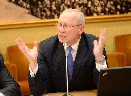 ASU rektorius Antanas Maziliauskas